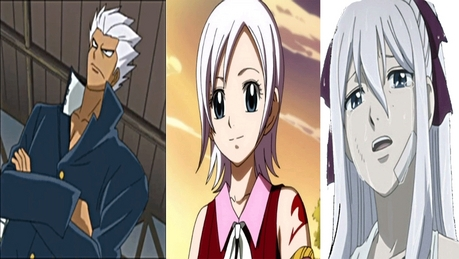 And also Elfman, Lisanna & Mirajane (Fairy Tail)