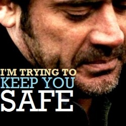 """""""I'm trying to keep you safe."""""""