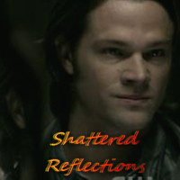 One of my favorite parts was when Sam and Lucifer were talking in the mirror: