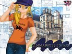 I really like this picture because it shows Annabeth at an older age and it gives hints about her int