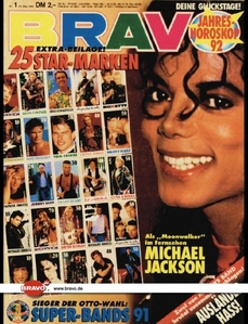 I bet that he is holding a record when it comes to magazine covers!!