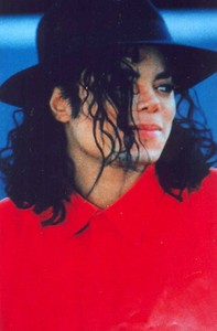 MJ, beautiful in red!  and... I would love to see a picture of Mj with flowers :X