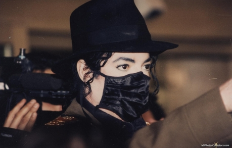 MJ from the Stranger in Moscow video