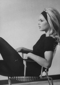 18-24 Oct. Beautiful Brigitte B. in B & W