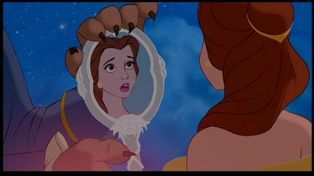 wewe get Belle's Enchanted Mirror. $Insert Coin$