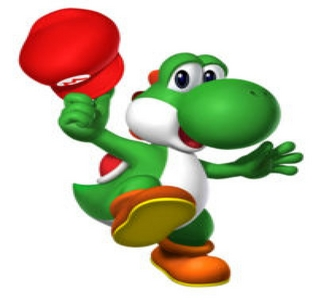 Yoshi plz!  I'm a pink yoshi with blond hair, likes Luigi, and of course wheres Luigi's hat.