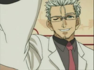 "Takamichi T. Takahata aka ""Death Specs"" or ""Death Glasses"" from Negima Magister Negi Magi"