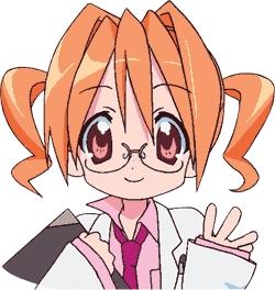Hikaru Sakuraba from Lucky Star