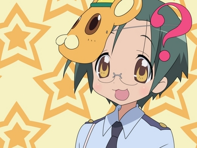Yui Narumi from Lucky Star
