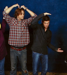 Ehhe, YMCA, although they're missing the Y and the A.. Jared dancing