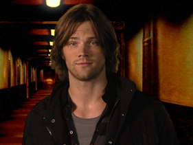 Jared in a Supernatural photoshoot