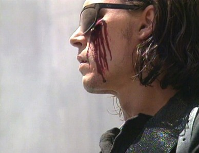bleeding johnny depp :) NEXT: pic of johnny with his mashabiki