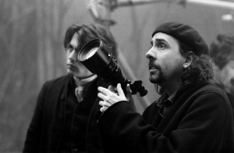 here :) I love Tim Burton Next: Johnny on set of alice in wonderland