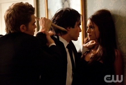 7: Damon & Stefan with Elena!