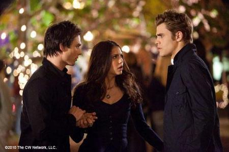 8: A Damon and Stefan 壁纸