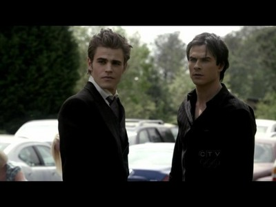 Stefan and Damon in the fire;)