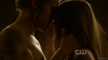 2. Stelena's First Kiss