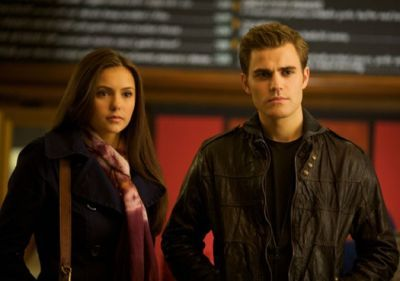 20. Stefan and Elena in Stefan's house