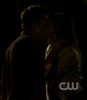 39. Stefan & Elena hugging