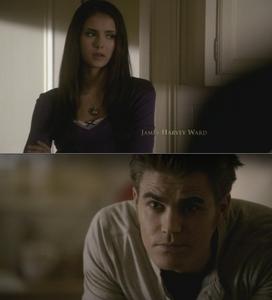 41. Stefan comforting Elena