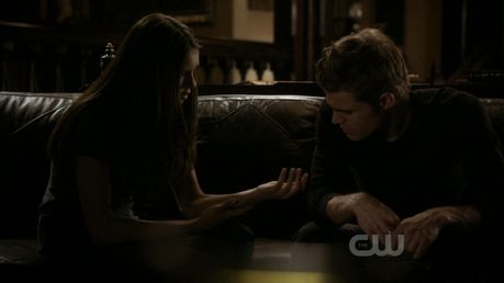 47. Stefan and Elena at the grill