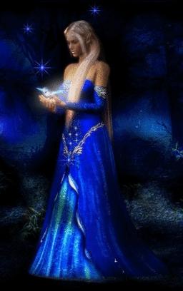 Beautiful Blue Lady....