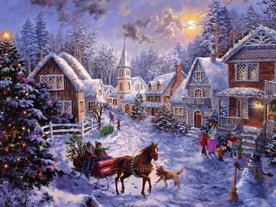 圣诞节 幻想