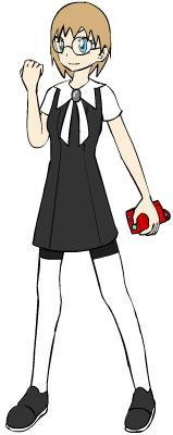 Profesor Lily The youngest professor ever known, she's calld a pokemon prodigy. She's found of Bug