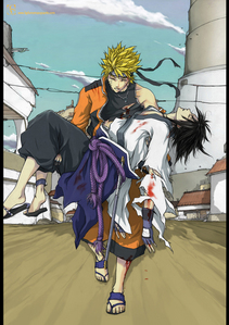 i wouldnt put it past naruto to die just so that sasuke can open his eyes. but sasuke will not be com