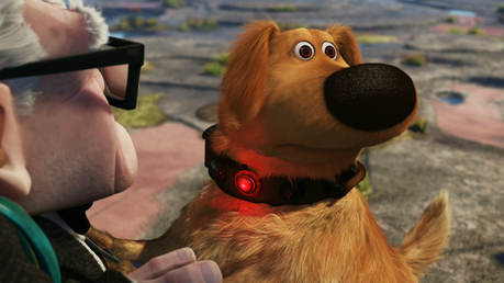 Haha I luv when in the movie any of the dogs would stop what they were doin just to see if there was