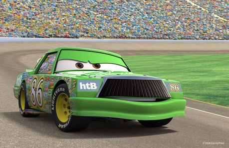 "Here it is!  Next, find a picture from ""Cars 2""!"