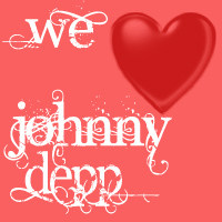 ♥♥♥♥ we heart johnny depp ♥♥♥♥