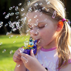 The little things in life like *blowing bubbles* :) Just amor your image Mackenzie <3