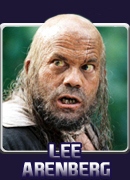 Lee Arenberg is best known for his role as Pintel, one of Captain Barbossa's crew of miscreants, in t