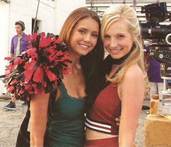 10: Candice with Lyndsy Fonseca