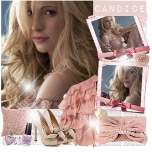 Like this? :) 54: A funny pic of Candice!