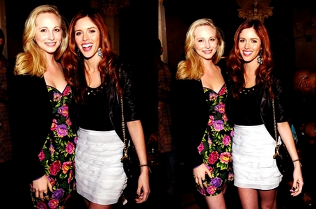 168:Candice and Miley cyrus on tour