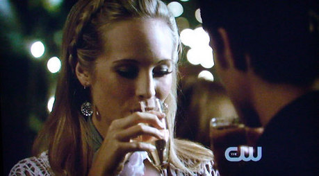 Is this ok ! have only found a caroline drinking pic but atleast its Candice :) YAY 200: Candice in a