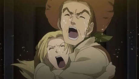 Ummm… I'd like to put Isaac and Maria from Baccano!… because they pretty damn unique. :P