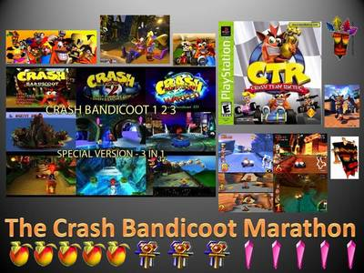 A few of my friends and I will be hosting a Live Crash bandicoot 24 hour marathon. In this marathon,