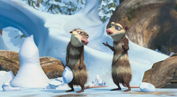 Silly and cute brothers! - Ice Age: Crash & Eddie - Fanpop