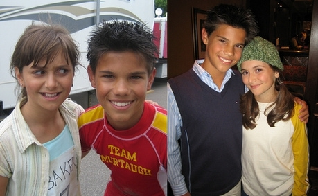 Taylor in Sharkboy and Lavagirl