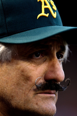 Rollie Fingers's facial hair