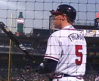 Freddie Freeman of the Braves!:D