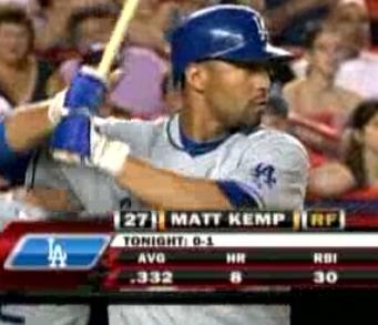 Matt Kemp! #onsundaynightbaseball!X3