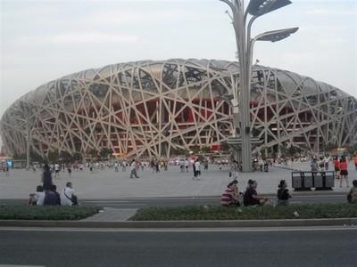 Beijing Olympic Games the bird's nest , soooooooo beautiful