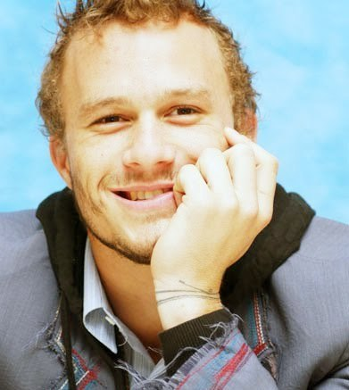 Heath Ledger Weird but few days पूर्व he appeared in my dream.