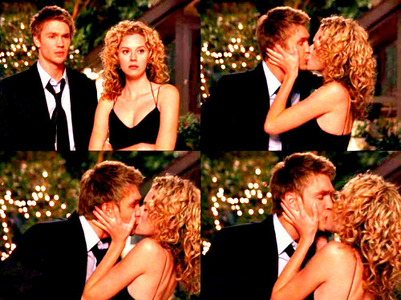 <b> 1) Who is your OTP? </b> Lucas and Peyton (OTH) <b> 2) What is your ONE most memorable momen