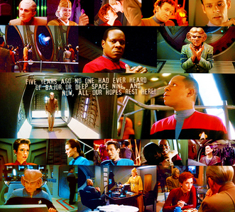 [b]1. Favourite Character[/b] - Quark and Sisko (Tied) [b]2. BFF-ness[/b] - Nog and Jake [b]3. Some