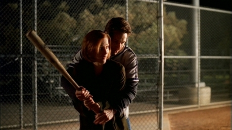 Mulder & Scully.
